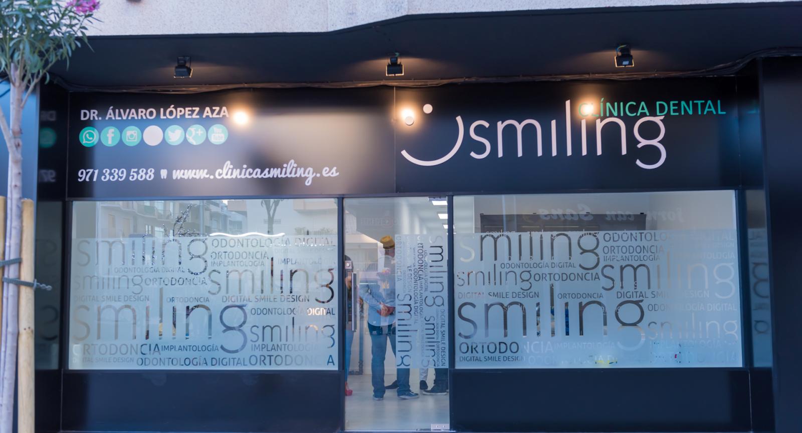 clinica dental smiling santa eulalia